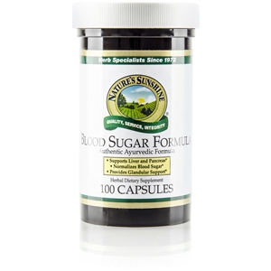 AYURVEDIC BLOOD SUGAR FORMULA (FORMERLY NBS-AV)
