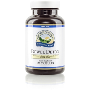 BOWEL DETOX (FORMERLY BOWEL BUILD (120))