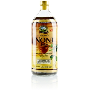 NATURES NONI (MORINDA CITRIFOLIA JUICE)(TWO) 32 OZ BOTTLE PACK