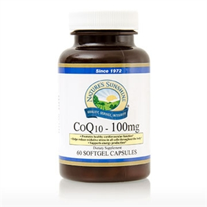 Co-Q10 (100 mg) (60 Softgel Caps)